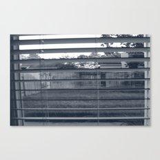 Black & White Background Canvas Print