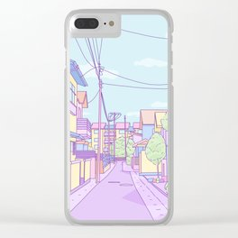Lost in Japan Clear iPhone Case