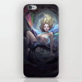 Two Polluted Black-Heart Romances Book CoverArt iPhone Skin