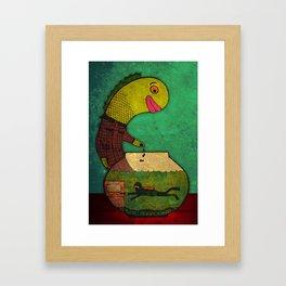 one lost soul Framed Art Print