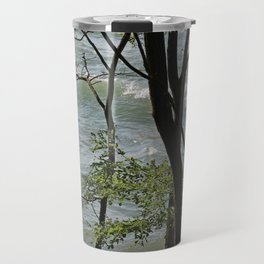 Incoming Waves Travel Mug