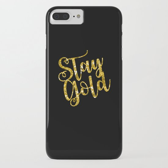 Stay Gold iPhone & iPod Case