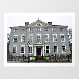 Lee Mansion, Marblehead, MA Art Print