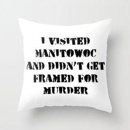 Manitowoc Throw Pillow