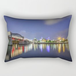 Chattanooga On The River Rectangular Pillow