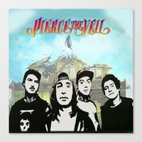 pierce the veil Canvas Prints featuring pierce the veil best decoration ideas by customgift
