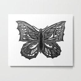 The Beauty in You - Butterfly #2 #drawing #decor #art #society6 Metal Print