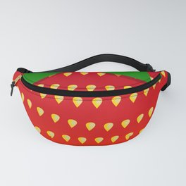 Strawberry Up Close Fanny Pack
