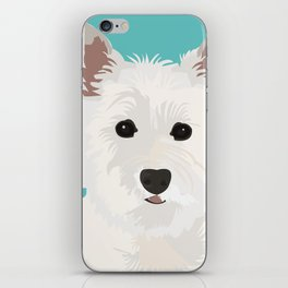 Westie Terrier iPhone Skin