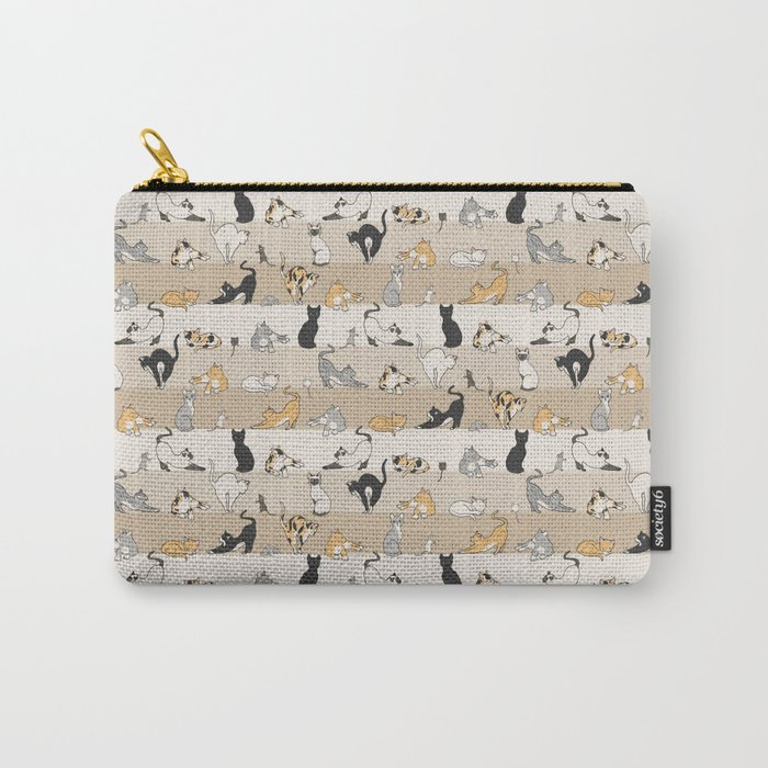 Cat & Mouse Carry-All Pouch
