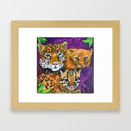 Cats Without Borders Framed Art Print