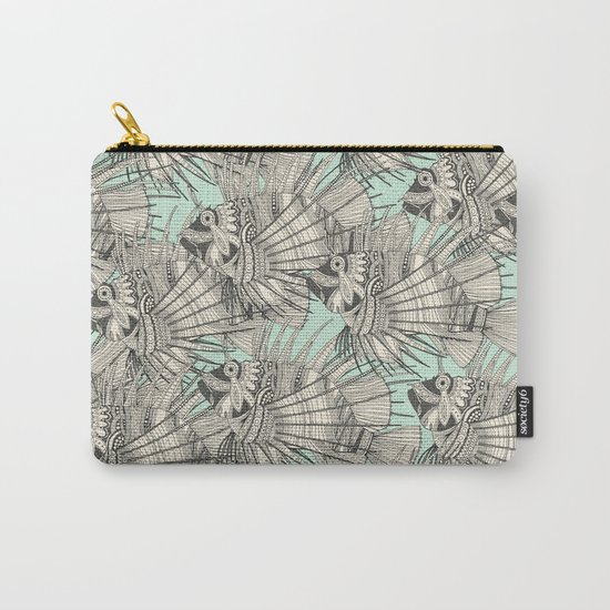 fish mirage mint Carry-All Pouch