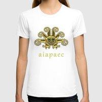 peru T-shirts featuring Ancient Peru - Ai Apaec by Franco Olivera