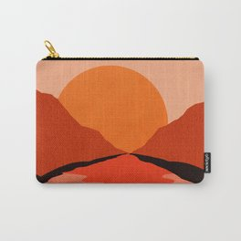 Abstraction_Sunset_Mountains_001 Carry-All Pouch