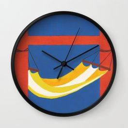 H is for Hammock Wall Clock
