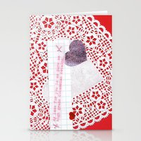 cocaine Stationery Cards featuring Pure Columbian Cocaine by judy lee