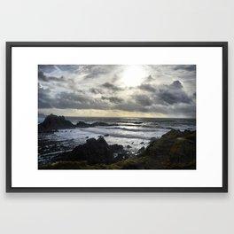Hartland North Devon uk 3 Framed Art Print