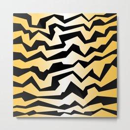 Polynoise tiger Metal Print