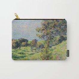 """Claude Monet """"Coup De Vent"""" Carry-All Pouch"""