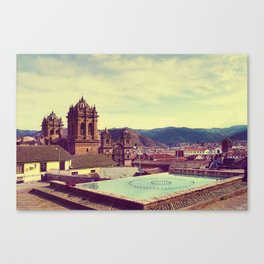 From Cusco with Love Canvas Print