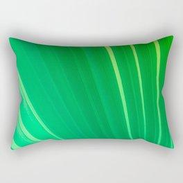 Palm Tree Leaf Rectangular Pillow