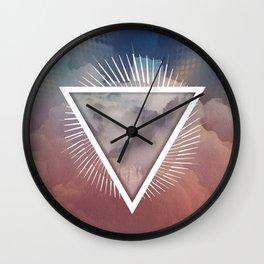 Ethereal Being - III Wall Clock