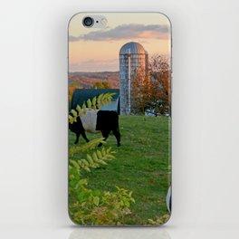 Farm in Autumn iPhone Skin