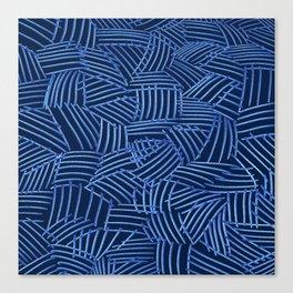 Blue Thatch Canvas Print