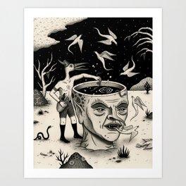 Evening Conjuring Art Print
