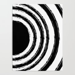 Painted Circles Poster
