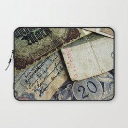 Old German money Laptop Sleeve