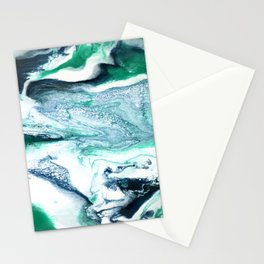 Petrichor Abstract Painting Stationery Cards