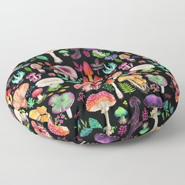 Mushroom heart Floor Pillow