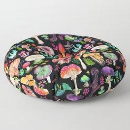 Mushroom heart Floor Pillow