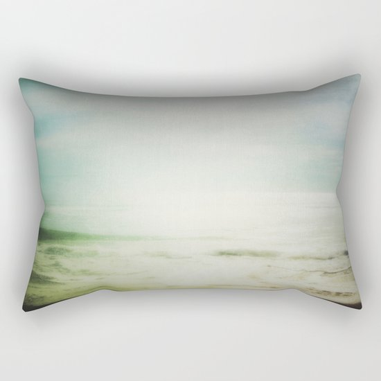 ABSTRACT BEACH Rectangular Pillow