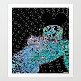 SPRAWL.  (Mouseketeers). Art Print