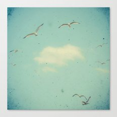 Circle of Birds Canvas Print