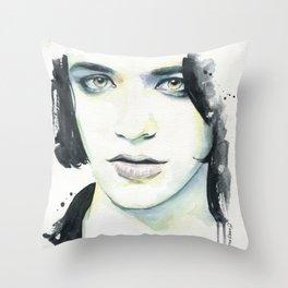 Brian Molko (I know) Throw Pillow