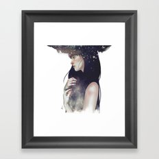 Crown of Stars Framed Art Print