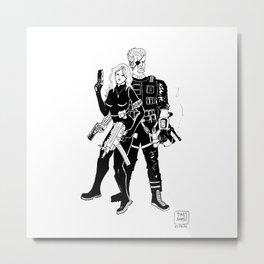 The Resistance Metal Print