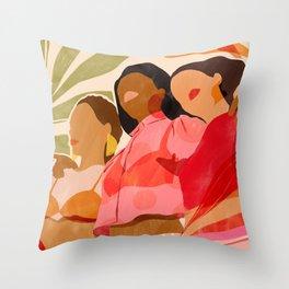 The Sisterhood Throw Pillow