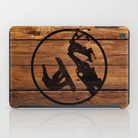 snowboarding iPad Cases featuring snowboarding 1 by Paul Simms