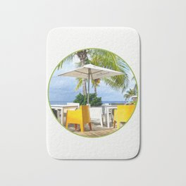 Caribbean Beach Bath Mat