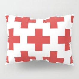 classic retro geometric cross pattern Pillow Sham