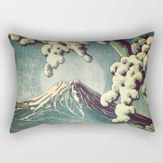 5 Lakes at Moonlight Rectangular Pillow