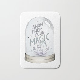 Show them your magic Bath Mat