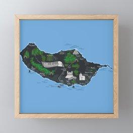 Madeira Framed Mini Art Print