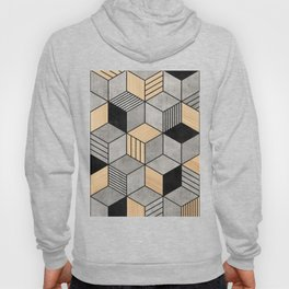 Concrete and Wood Cubes 2 Hoody