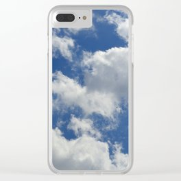 Sunny Cloudy Sky Clear iPhone Case