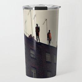 Roof Top Masai Warriors Travel Mug